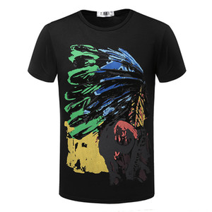 Erkekler Için 2016 Moda T Shirt Hint Totems Tişört Şort Kollu Marka YENI Yaz erkek Üstleri Tee Casual tişört TX80 RF