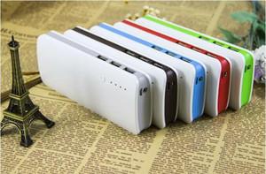 Telefone 15000mAh portátil USB alternativo externo Carregador de Bateria Power Bank para celular grátis