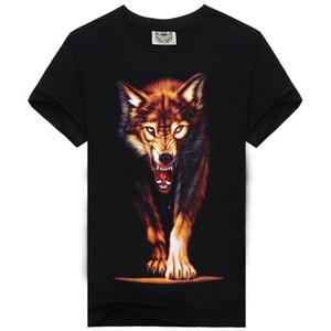2016 camisas de golf al por mayor patrón de animales 3 D impresión de los hombres desgaste para hombre T Pity Button 3d T-shirt Camisetas Marcas Fashions Led Poloshirt