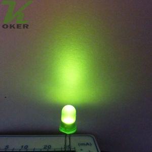 1000pcs 5mm 녹색 확산 LED 빛 램프 LED 3mm Diffused greenUltra 밝은 라운드 LED 빛 무료 배송