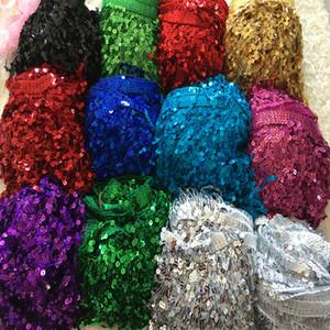 1 의 많은 수를 놓은 트림 프린지 반짝이 레이스 레이저 및 일반 물는 수용성에 대한 액세서리 드레스 zakka DIY 패치 워크에 대한 재봉 zakka