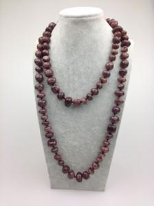 ST0121 42 pulgadas de longitud mujeres moda joyería pesada venta al por mayor collar de dentición venta caliente collar envío gratis