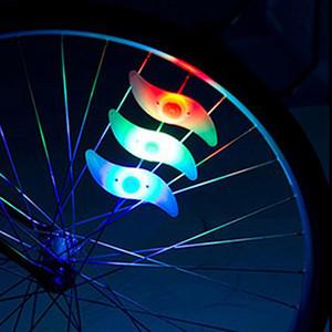 Con Bettery Bike Light Nuevos accesorios para bicicletas Led Rueda Spoke lamp Cool Velo Bicycle Wheel Light NUEVOS accesorios para bicicletas