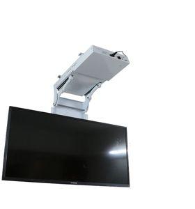"NEW remote 32-70"" LCD TV ceiling lift hanger electric genuine turner, rotating mount hanger hidden ceiling lift 220V"