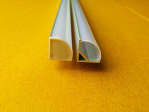 2.5 m / pçs WholeSale Frete Grátis 2500mmX16mmX16mm LED perfil de alumínio (cor prata anodizada) com tampa do PC para fita LED flexível ou rígida
