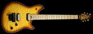 Súper Rare Edward Van Halen Lobo Hombre de la Música Ernie Axis Tabaco Sunburst Guitarra Eléctrica Tremolo Bridge Contraportada Envío de La Gota