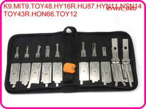 وحدة فك ترميز تلقائية وقفل تلقائية للسيارات 2 in1 تلتقط الطرازات الآسيوية 10 قطع من حزمة واحدة ل K9 MIT9 TOY48 HY16R HU87 HYN11 NSN14 TOY43R HON66 TOY12