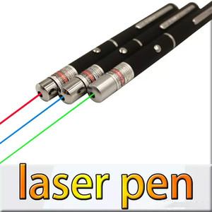 5 mW 532nm 650nm 405nm Yeşil Kırmızı Mavi Işık Lazer Pointer Kalem Yüksek Güç SOS Avcılık Öğretim Için OPP ambalaj JBD-P1