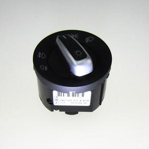 Interruptor de cromo OEM Interruptor de luces delanteras Automático para VW Jetta 5 6 Golf 5 6 GTI Mk5 Mk6 Passat B6 Tiguan 5ND 941 431 B