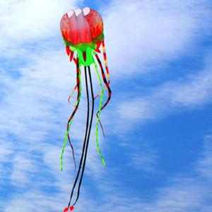 Grandes modelos de cometas rojas en 3D Software original kite medusas pintadas de flores