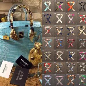 sciarpe multifunzionali di lusso di marca sciarpe di donna piccola borsa di moda di benda di sciarpa per cinghie di borsa di sciarpa di seta di signora per fascia