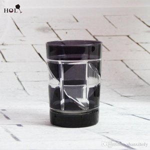 Bleifreies Glas geschnitzte Farbe Material Glas Tasse