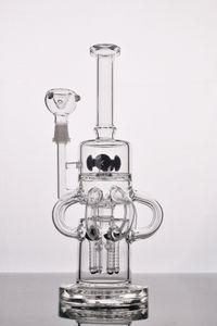 Neueste dicke creme glas high-end-glasbong schwere basis die beste qualität wasserpfeife glasart erfreulich versandkostenfrei