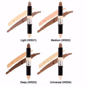 NYX Wonder Stick Bronzers Marchi Evidenziatore per trucco Colori Ombra Stick Chiaro Medio Profondo Universale NYX Concealer Face Foundation Cosmetici