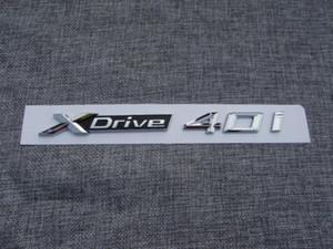 XDrive 40i Letter Number Trunk Rear Letters Emblem Decal Sticker per BMW X5 X6