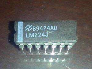 LM224J. NS. LM224. CDIP14, Low Power Quad Operational Amplifiers IC. двойной встроенный 14-контактный упаковочный керамический пакет. Электронные компоненты