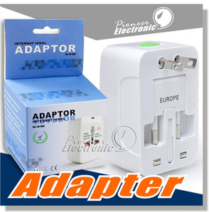 Travel universal wall charger power adapter for pluge Surge Protection Universal Travel International Power Adapter Plug (UK UK EU AU AU AC Plug)