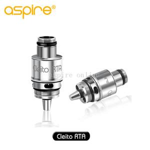Authentique système Aspire Cleito 120 RTA pour adaptateur de construction à simple bobine Cliteto 120 RTA pour réservoir Cleito 120