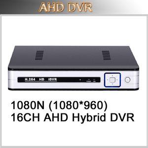 CCTV Full HD ЭН 1080N DVR 16 каналов безопасности запись в реальном времени DVR HDMI DVR HVR NVR 3 В 1 ONVIF Video Recorder