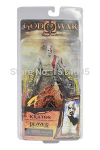 """7 """" 18 см высокое качество NECA бог войны Кратос в Ares броня лезвия ПВХ фигурку игрушка модель GW001"""