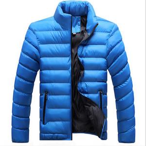 Otoño-2016 Chaqueta de invierno Hombre New Down Mezcla de algodón Hombre Chaquetas de invierno para hombre Camperas Hombre y chaquetas Jaqueta Masculina Casaco Inverno