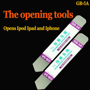 GB-5A Tool Crowbar Herramienta de apertura de palanca de acero inoxidable ultrafino Crowbar para iPhone Samsung Pantalla táctil Reparación de carcasa de teléfono celular