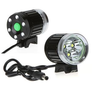 4000 Lumen 3 x CREE XM-L T6 LED Fahrrad Licht Scheinwerfer HeadLamp für Radfahren, Outdoor + 6400 mAh Akku + Ladegerät