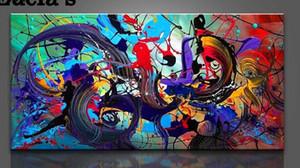 Çerçeveli, Yüksek Kaliteli hakiki El Boyalı Ev Duvar Dekor Soyut Sanat Yağlıboya resim, Ücretsiz Nakliye, Çok boyutları Mevcut