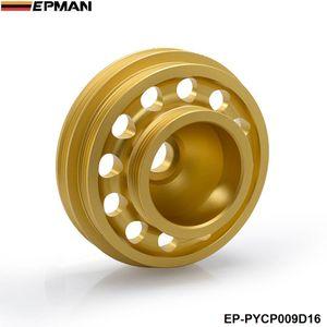 EPMAN nouveau Poulie De Vilebrequin Ceinture En Aluminium Pour Honda 92-95 Par exemple, Civic SOHC EP-PYCP009D16