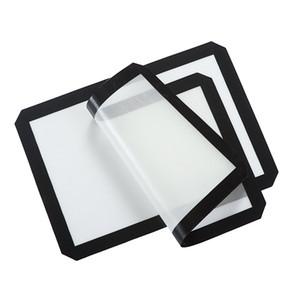 Esteiras de Silicone Resistente Ao Calor FDA Rolamento Massas Pastelaria Bakeware Forro Pad Mat Forno Massas Ferramentas de Cozimento