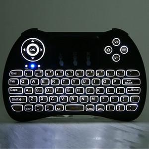 Drahtlose hintergrundbeleuchtete Tastatur H9 Fly Air Maus Multimedia Fernbedienung Touchpad Handheld QWERTY mit Blacklight
