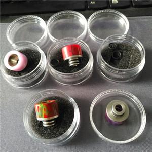 Las últimas extremidades de goteo de la resina de epoxy para el atomizador del tanque del bebé TFV8 Mini Bore Drip Tips 510 Boquilla