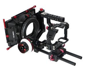 CAME-TV S ony A7S Rigs W / Mattebox 포커스 카메라 Dslr Rig 따라 가기