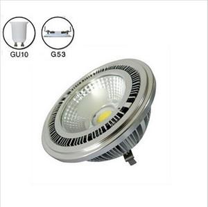 10w AR111 COB led spotlight G53 GU10 AR111 spotlight warm white cold white 3 years warranty AC85-265V