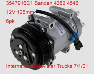 Otomobil parçaları 3547916C1 Sanden SD7H15 4793 4546 CO 4815 3541235-C91 Uluslararası Navistar Kamyon araba hava Kompresörü