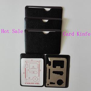 Multi Tools 11 in 1 Multifunzione Outdoor Caccia Survival Camping Pocket Military Coltello con carta di credito Silver Outdoor Gear