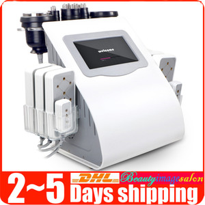 Unoisetion 40K Cavitation 2.0 Body Fat Loss Quadrupolar 3D RF Vacuum 650nm Diode Lipo Laser Salon Beauty Machine