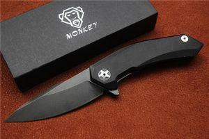 Бесплатная доставка, высокое качество на заказ Обезьяна складной нож, лезвие материал 440с, ручка G10, открытый кемпинг охотничий ручной инструмент, оптовая продажа, подарки.