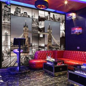 Duna Bridge telón de fondo gran restaurante retro wallpaper wallpaper dormitorio 3d pared que cubre la sala de estar edificio inglés fondo de pantalla
