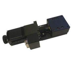 PP110-10 (40) / (60) Etage linéaire motorisé de haute précision, plateforme de translation électrique, débattement de +/- 10mm