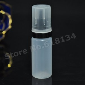 2500pcs 10ml PET Plastiktropfflasche einzigartig mit unbefugter Beweisflacher Kopfkappe