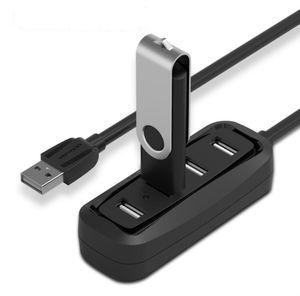 Vention haut débit 4 ports USB 2.0 Hub Port USB HUB Hub OTG portable Splitter USB pour Apple Macbook Air PC portable Tablet