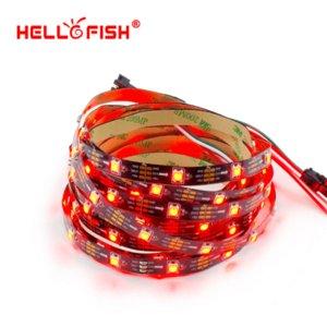 BONJOUR FISH 5M Bande LED pleine couleur WS2812B intégrée, 150 LED 150 pixels, Affichage matriciel Raspberry Pi Pixel Arduino DIY