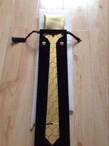 Cravatta lussuosa per uomo, sposo, cerimonia di nozze e spettacolo del club