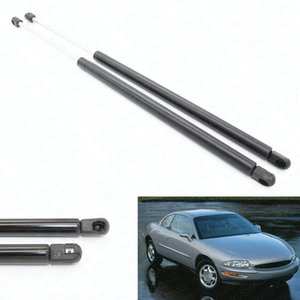 2pcs Front Hood Gas Charged Lift Support For Buick Riviera 1995-1999 for Cadillac Seville SLS STS Base Sedan 1995-1999
