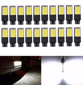 20Pcs Canbus T10 LED COB Wedge Interior Bulbs Light 194 168 W5W Parking Backup Fog Light Brake Lamps Auto No Error light