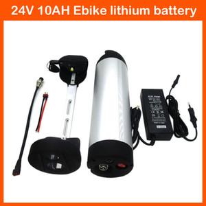 Batteria ricaricabile 350W 24V Batteria acqua 24V 10AH Batteria al litio Batteria bici elettrica con caricabatterie 15A BMS 29.4V 2A