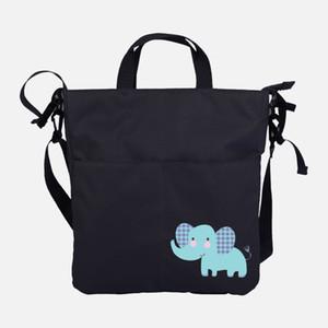 La nueva bolsa de cochecito de dibujos animados, alta capacidad impermeable, cochecitos, carruajes para bebés cuelgan la bolsa