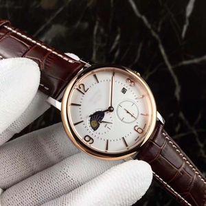 Montres Hommes Montre de luxe chronographe de montre-bracelet pour Grand Homme montre des bandes à motifs de montres en ligne Montre Mode USA