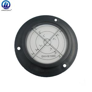 مستوى الفقاعة المستديرة HACCURY 90 * 17mm لآلات البناء مستوى الفقاعة الدائرية مع ثقوب التركيب